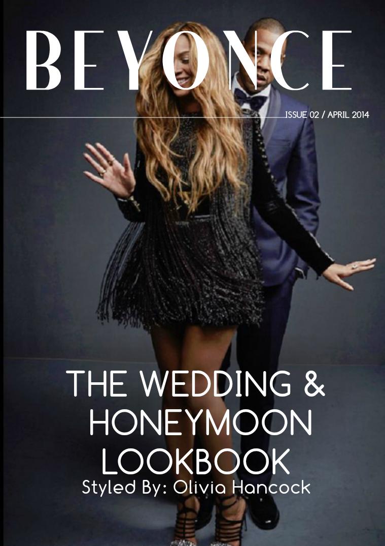 BEYONCE'S WEDDING LOOKBOOK may 2015