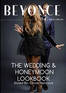 BEYONCE'S WEDDING LOOKBOOK