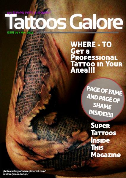 Tattoos Galore December 2014