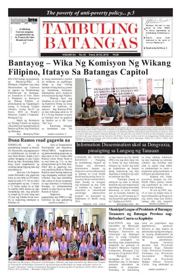January 24-30, 2018 Issue