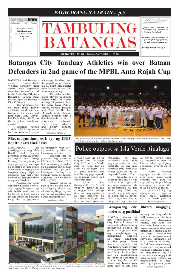 February 14-20, 2018 Issue