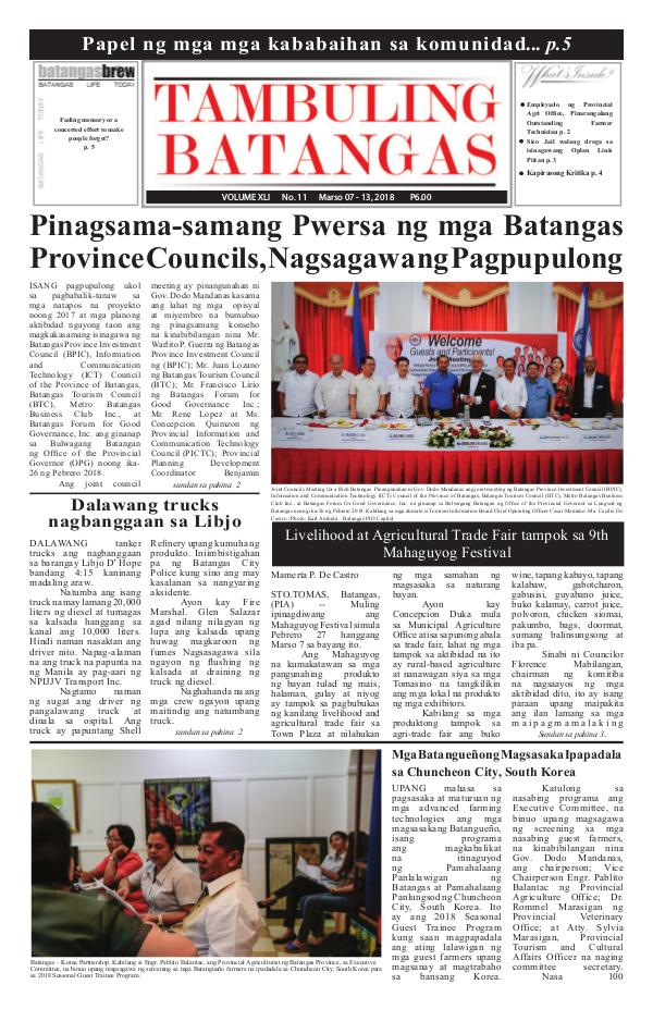 March 07-13, 2018 Issue