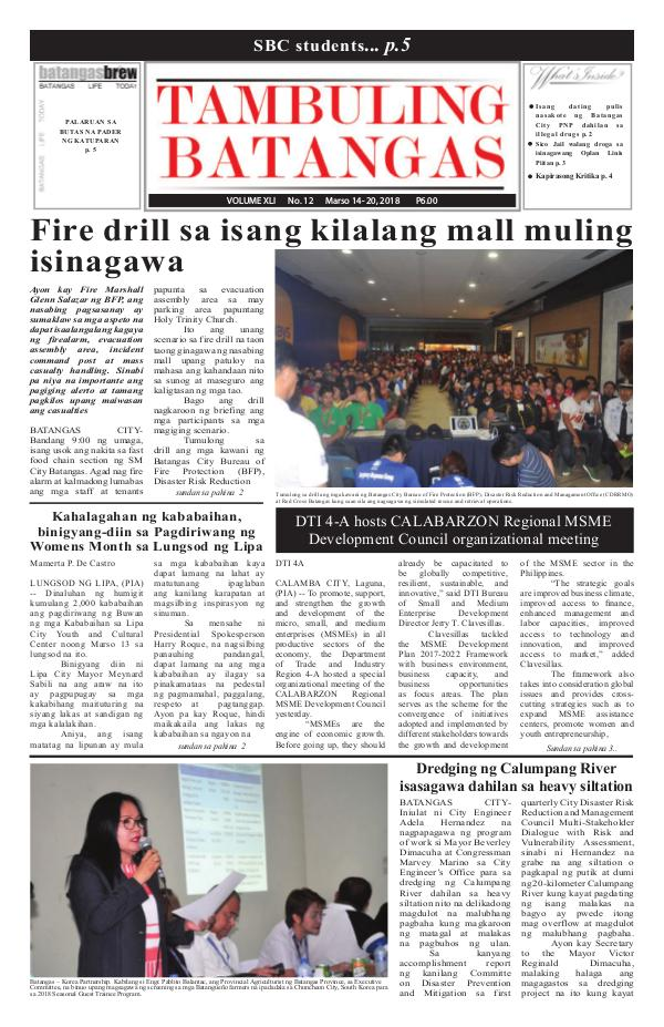 March 14-20, 2018 Issue