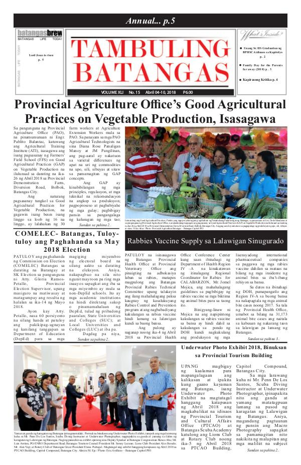 April 04-10, 2018 Issue