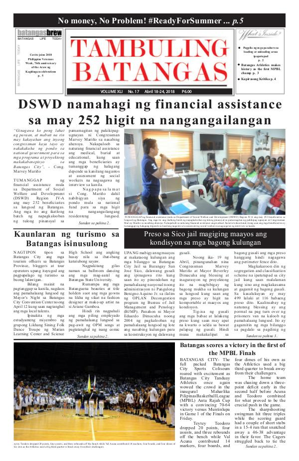 April 18-24, 2018 Issue