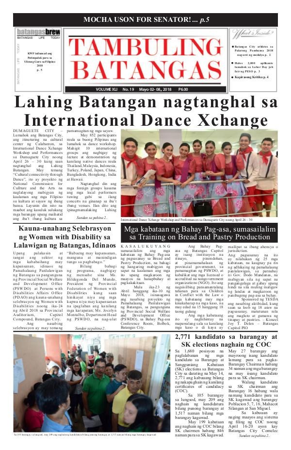 May 02-08, 2018 Issue