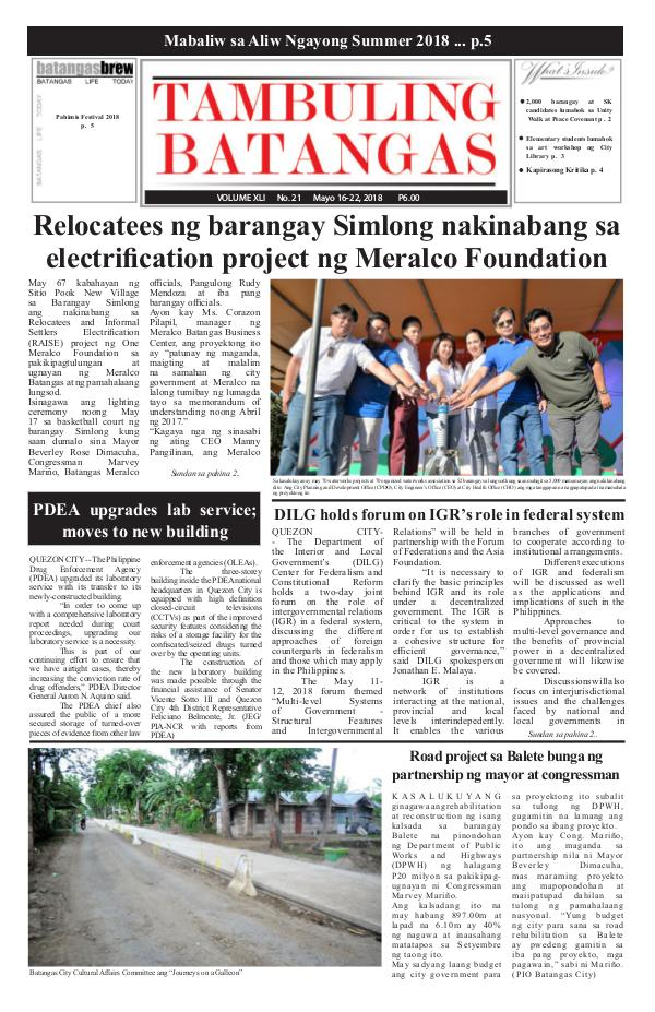 May 16-22, 2018 Issue