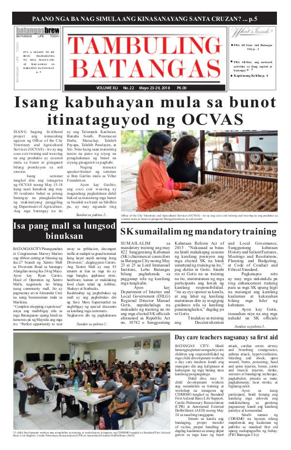 May 23-29, 2018 Issue
