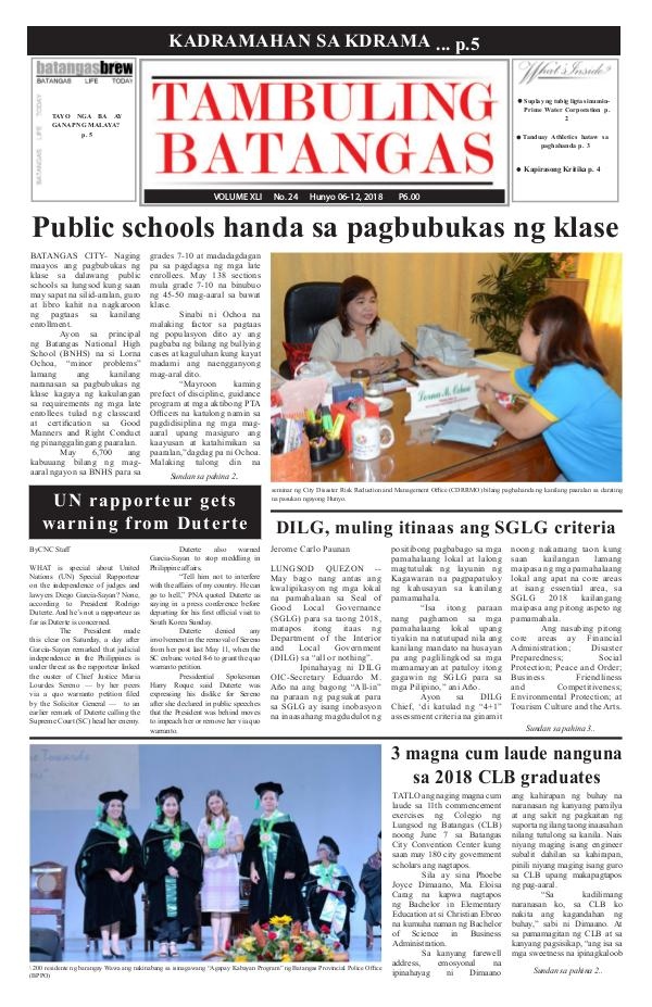 June 06-12, 2018 Issue