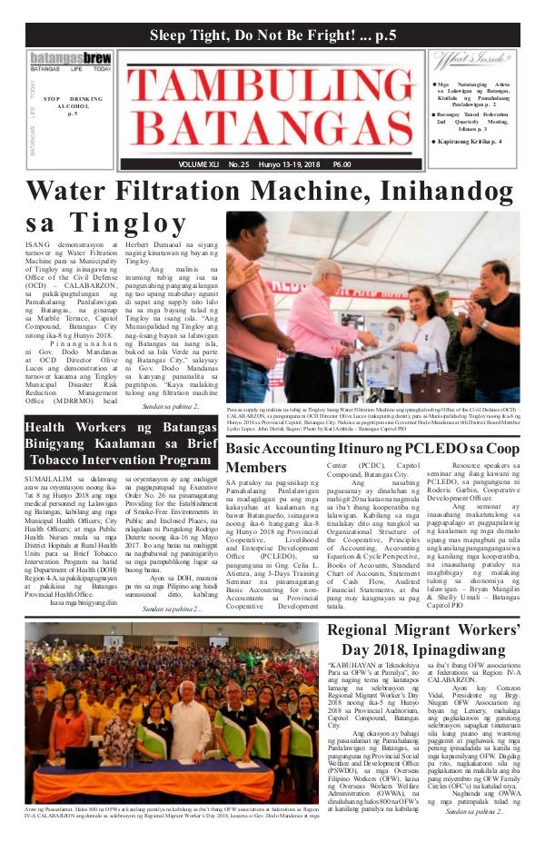 June 13-19, 2018 Issue