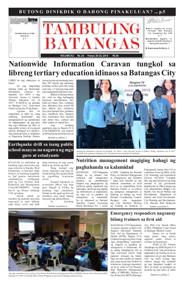 June 20-26, 2018 Issue