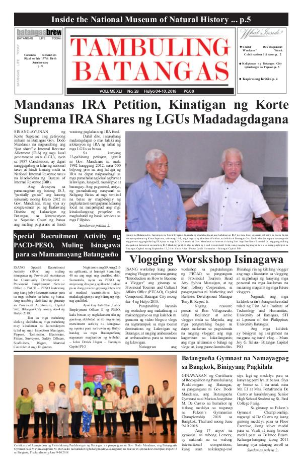 July 04-10, 2018 Issue