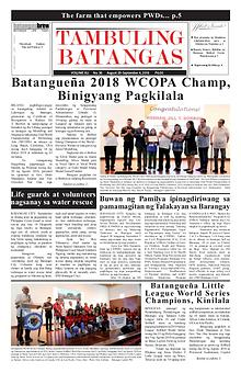 Tambuling Batangas Publication