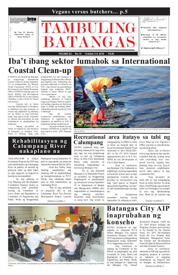 October 03-09, 2018 Issue