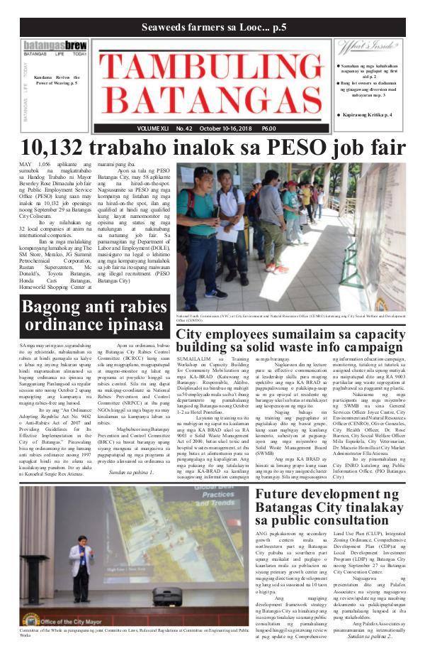 October 10-16, 2018 Issue