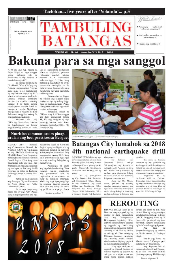 November 07-13, 2018 Issue