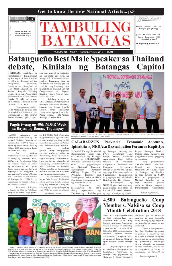 November 14-20, 2018 Issue