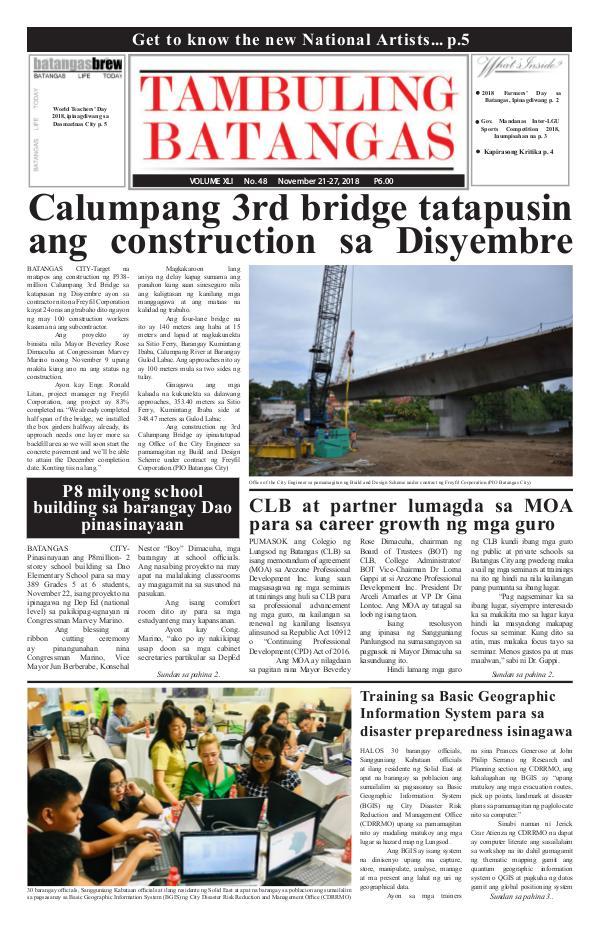 November 21-27, 2018 Issue
