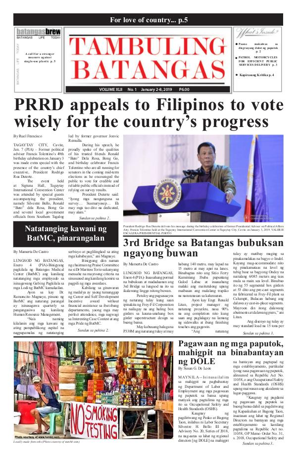 January 02-08, 2019 Issue