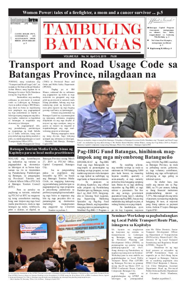 April 03-09, 2019 Issue