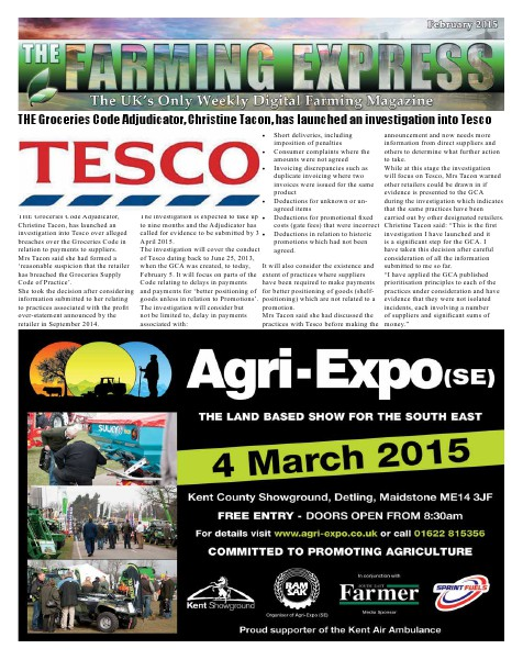The Farming Express February #1