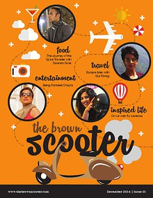The Brown Scooter