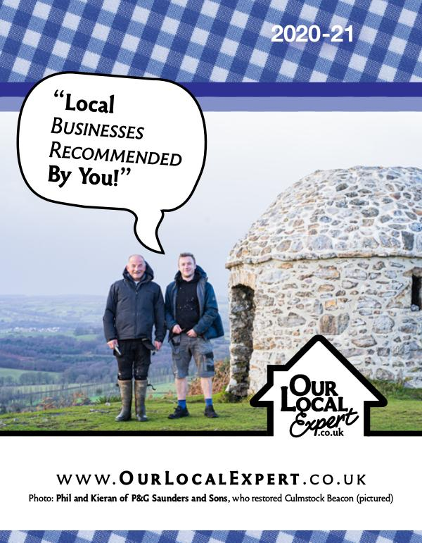 Our Local Expert (Taunton / Blackdown Hills) 2020-21