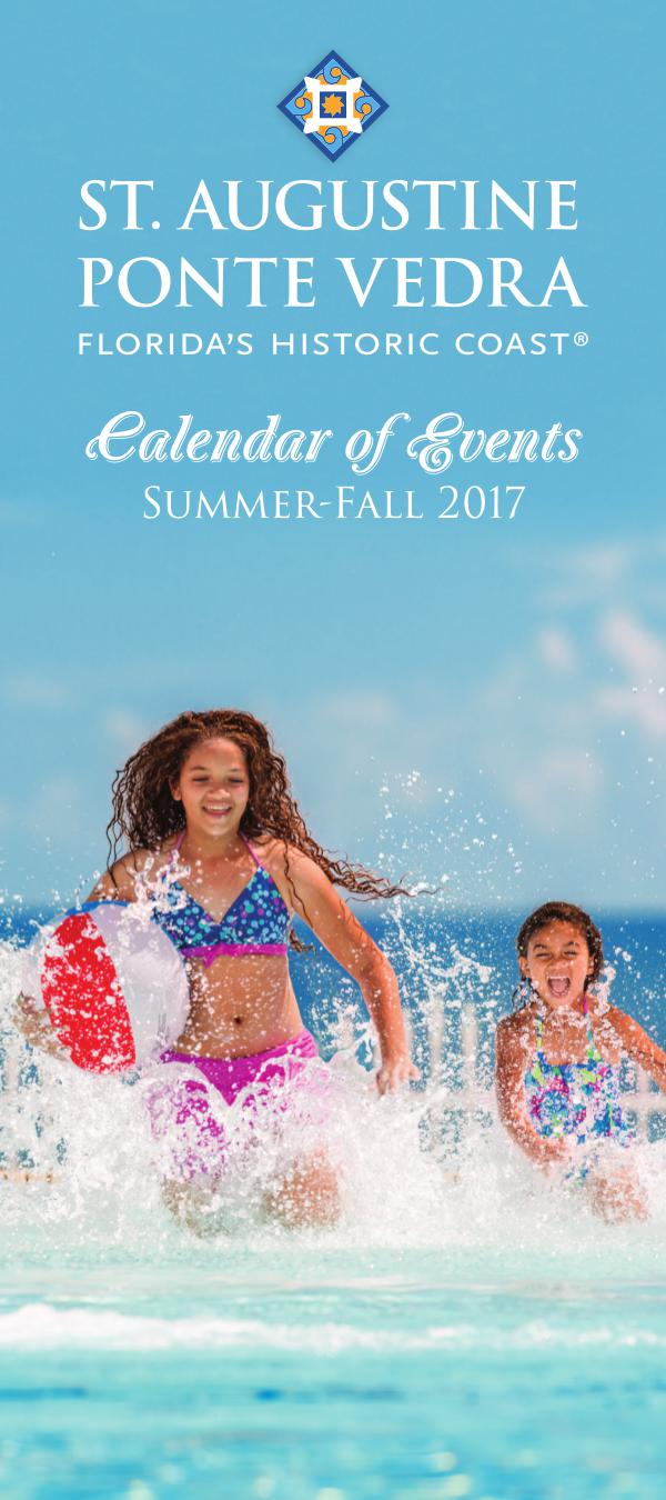 Florida's Historic Coast Calendar of Events Summer-Fall 2017 Jun-Oct
