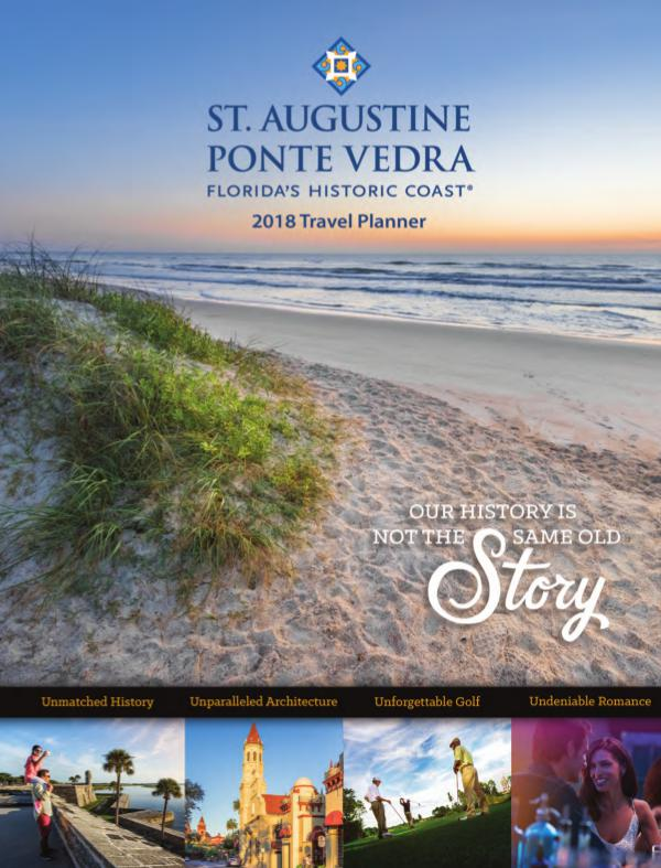 Florida's Historic Coast Travel Planner 2018