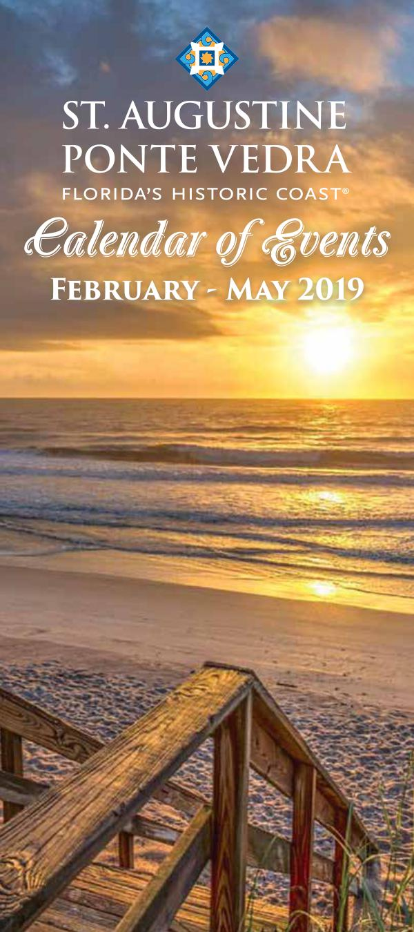 Florida Calendar Of Events February 2019 Florida's Historic Coast Calendar of Events Spring Feb May 2019