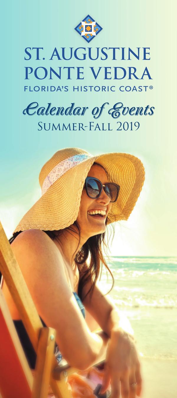 Florida's Historic Coast Calendar of Events Summer-Fall Jun-Oct 2019