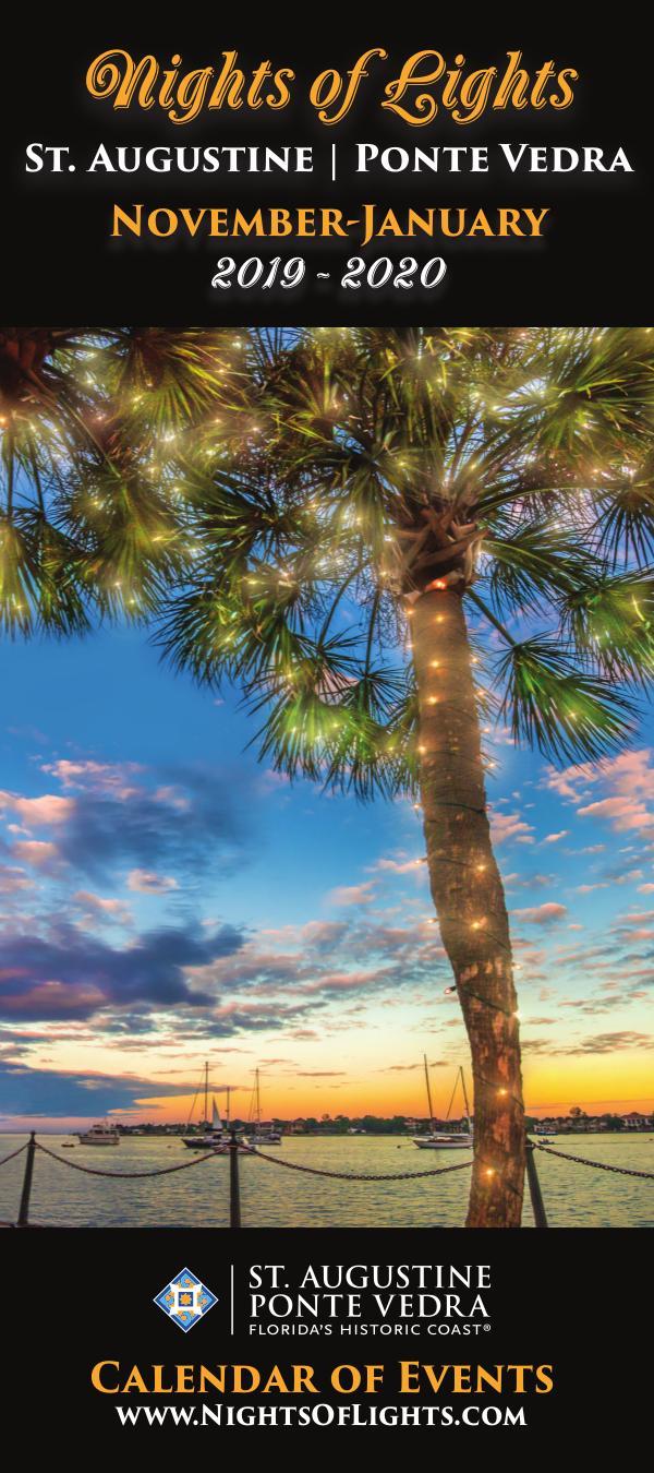 Florida's Historic Coast Calendar of Events Nights of Lights Nov 2019-Jan 2020