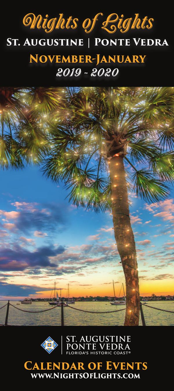 Florida's Historic Coast Calendar of Events Nights of Lights Nov 2019-Jan 2020