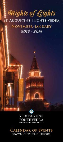 Florida's Historic Coast Calendar of Events Nights of Lights Nov 2014-Jan 2015