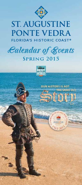Florida's Historic Coast Calendar of Events Spring 2015 - Feb-May