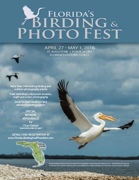 Florida's Birding & Photo Fest official guide 2016