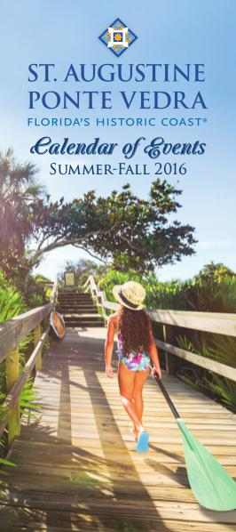 Florida's Historic Coast Calendar of Events Summer-Fall 2016 - Jun-Oct