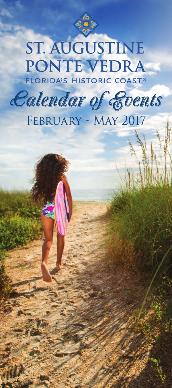 Florida's Historic Coast Calendar of Events Spring 2017  Feb-May