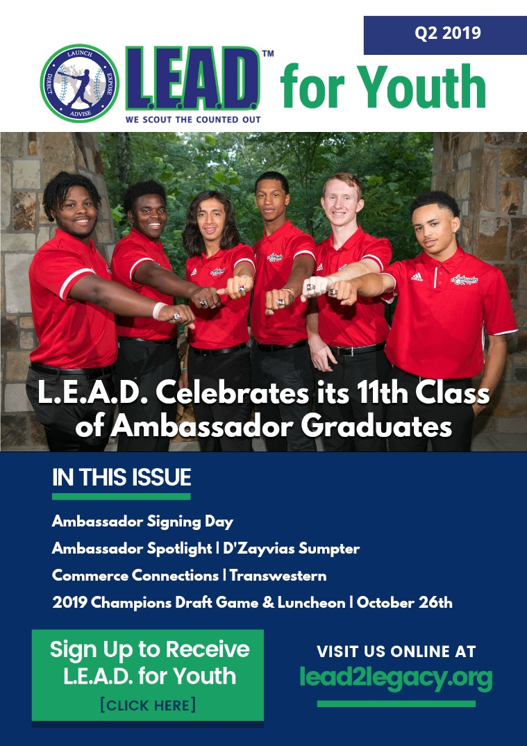 LEAD eMagazine L.E.A.D. For Youth | Q2,2019