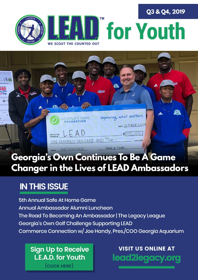 LEAD eMagazine L.E.A.D. For Youth | Q3, Q4 2019