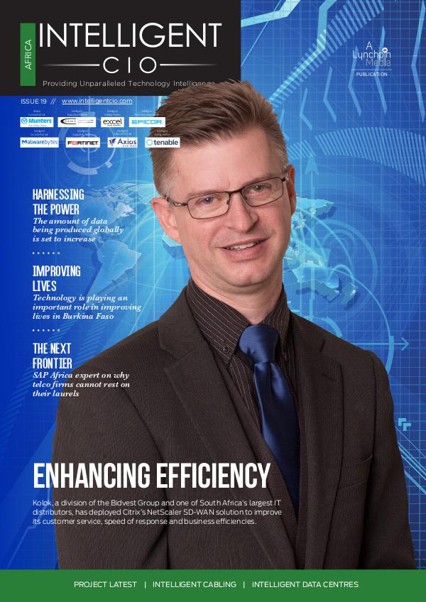 Intelligent CIO Africa Issue 19