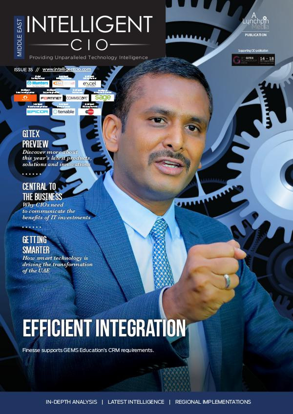 Intelligent CIO Middle East Issue 35