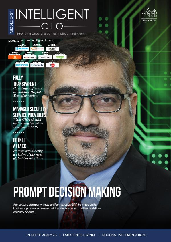 Intelligent CIO Middle East Issue 36