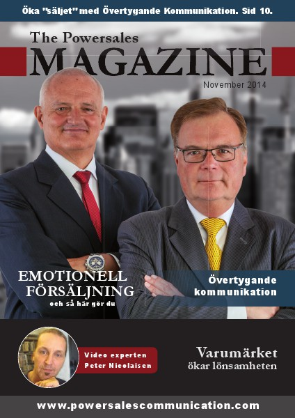 Powersales Magazine nr 1