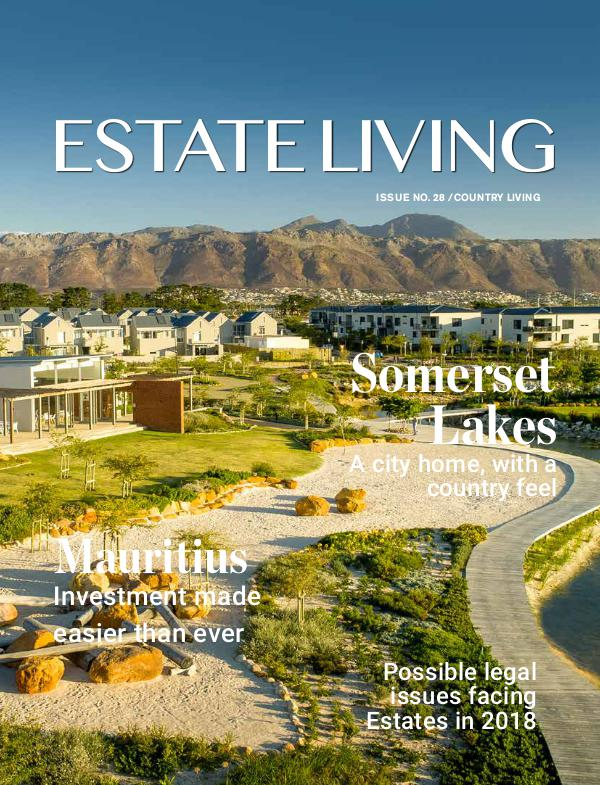 Estate Living Magazine Estate Living Issue 29 May