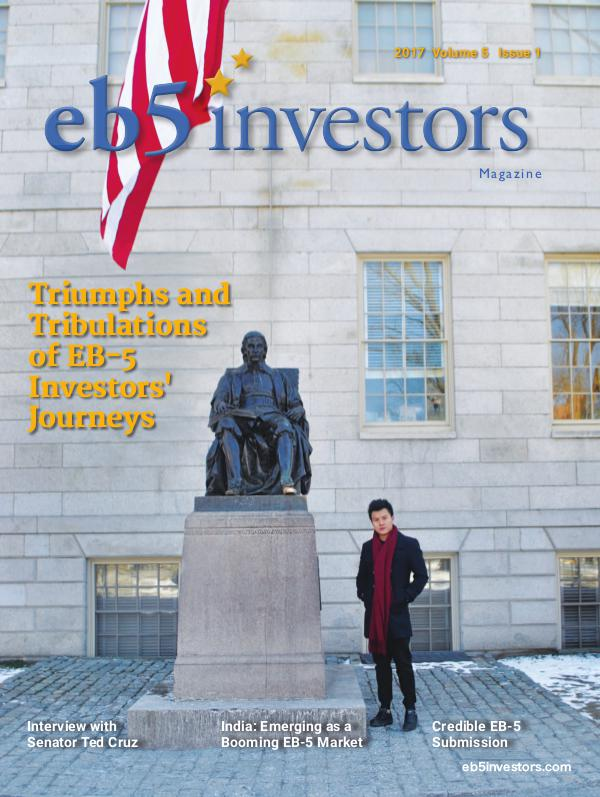 EB5 Investors Magazine (English Edition) Volume 5, Issue 1