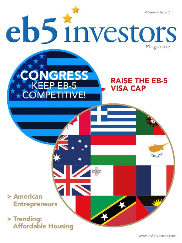 EB5 Investors Magazine English Edition, Volume 4, Issue 2