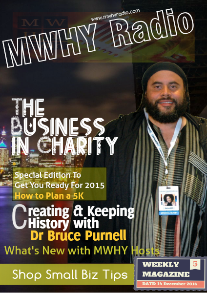 MWHY Radio Magazine Live December 14th 2014