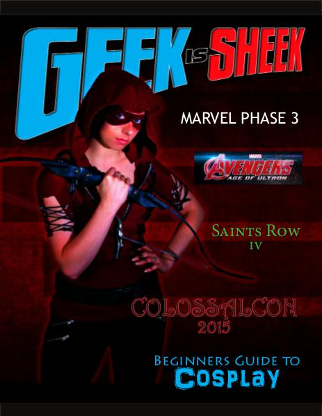 Geek Is Sheek July 2015