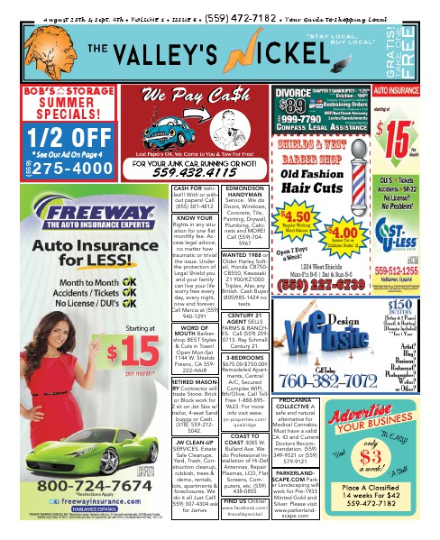 The Valley's Nickel Volume 1 - Issue 6
